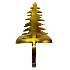 Christmas Tree Stocking Holder Hanger Metal Solid Brass Long Drop Hook