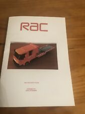 custom built lego RAC Recovery Truck INSTRUCTIONS ONLY