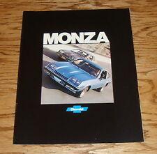 Original 1977 Chevrolet Monza Sales Brochure 77 Chevy