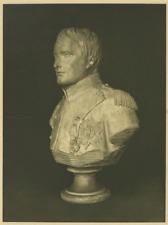 France, Sculpture, Napoléon  Vintage albumen print.  Tirage argentique  15x2