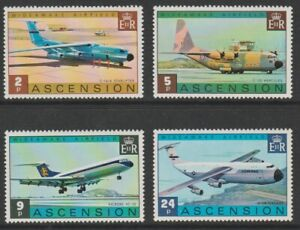 Ascension 1975 Wideawake Airfield set sg187-190 MNH
