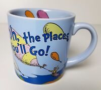 Dr. Seuss Oh The Places You'll Go Coffee Mug Cup Good Graduation Baby Gift
