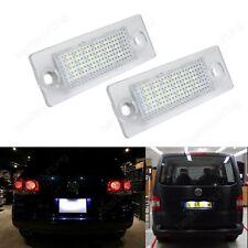 Feux LED De Plaque d'Immatriculation VW Caddy 3 Golf Transporter T5 Skoda Superb