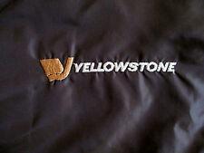 vtg Yellowstone Plac-Jac Nylon Windbreaker Jacket Brown Earl 70s 80s Dunbrooke L