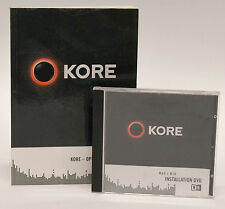 Native Instruments KORE 1 Virtual Instrument Software & Operations Manual
