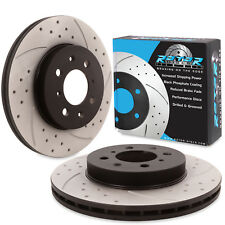 FRONT DRILLED GROOVED 262mm BRAKE DISCS FOR ROVER STREETWISE CITYROVER 1.4 2.0TD