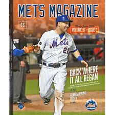 2018 NEW YORK METS YANKEES SUBWAY SERIES PROGRAM FRAZIER RUSTY STAUB BONUS