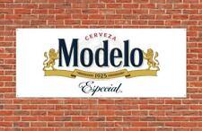 Cerveza Modelo Especial Pvc Vinyl Plastic Banner 2x5ft wall Flag Bandera