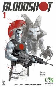 HERO INITIATIVE BLOODSHOT 50 PROJECT Original cover: PAOLO RIVERA CGC 9.8