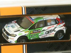 1/43 Volkswagen Polo GTI R5  WRC2  Rally Sweden 2019  E.Lindholm