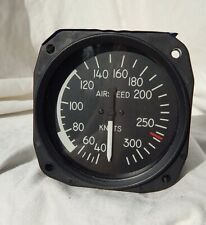 Lighted Aircraft 0-320 Knots Airspeed Indicator Gauge Instrument Part 8040