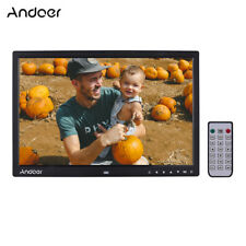 Digital Photo Frame 17 inch LED Screen High Resolution with Remote Control D1R7