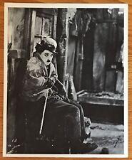 Charlie Chaplin The Little Tramp B&W 8x10 Still Photo: The Gold Rush