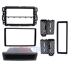 Radio Replacement Dash Install Kit 2-DIN w/Pocket for Chevrolet/GMC/Buick/Hummer