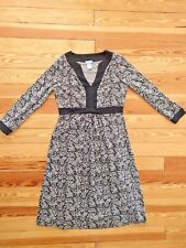 Gap Maternity Long Sleeve Dress, Cotton Stretch, Size Small - So Comfy!