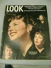 LOOK MAGAZINE SEPTEMBER 30 1947 INGRID BERGMAN TAFT HARTLEY LAW MURDERER