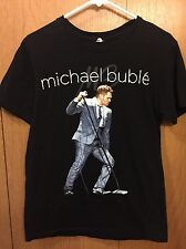 Michael Buble Concert Shirt Size M 2 Sided