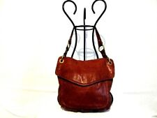 FOSSIL LEATHER MODERN CARGO CONVERTIBLE FLAP HOBO-ZB5054