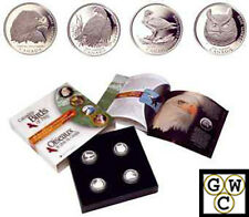 Boxed 2000 Proof 50ct 'Birds of Prey' Silver Set (10028)