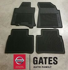 2013 to 2015 Nissan OEM Rubber All Weather Floor mats for Altima Sedan (black)