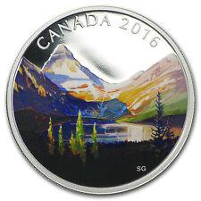 2016 Canada 1 oz Silver $20 Canadian Landscape The Lake - SKU #94231