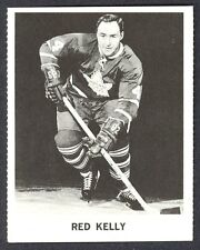 1965 COCA-COLA COKE RED KELLY EX-NM  TORONTO MAPLE LEAFS HOCKEY CARD