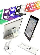 Apple Ipad 9,7 Computadora Soporte Tablet Blanco iclip Plegable De Viaje Con Soporte Para Escritorio