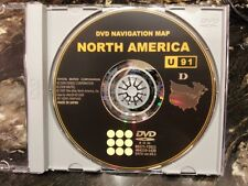 Genuine Toyota Prius 2010 Navigation DVD U91