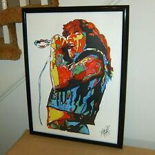 Bon Scott, AC/DC, Lead Singer, Vocals, Hard Rock, Blues Rock, 18x24 POSTER w/COA