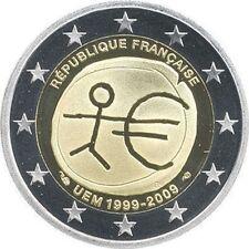 FRANCIA 2 EUROS 2009 - CONM. EMU