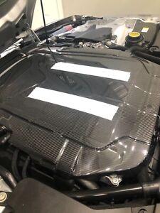 Jaguar F-type Carbon Fiber engine cover AWD & RWD New T2R8019
