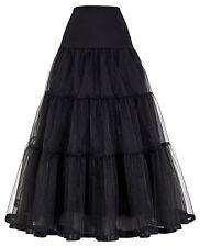 NEW PLUS SIZE HOOP RENAISSANCE MEDIEVAL COSTUME DRESS PETTICOAT SKIRT TUTUT SLIP