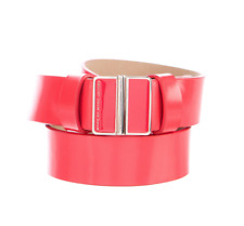 Marc By Marc Jacobs Patent Leather Red Women's Belt Sz M/L 3501