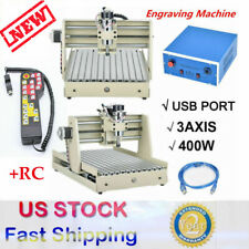 Usb 3 Axis Cnc 3040 Router Engraving Milling Engraver Machine Metal+controller