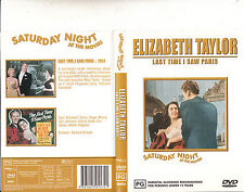 Last Time I Saw Paris-1954-Elizabeth Taylor-Movie-DVD