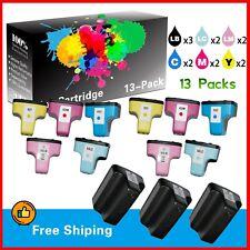 13-PacK HP 02 Ink Cartridge for HP PhotoSmart C6250 D7160 C7150 C6180 Printer