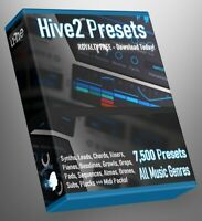 Uhe Hive 7.500 Presets CUBASE REASON SONAR LOGIC ABLETON FL STUDIO MPC Synth