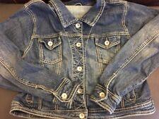 MAURICES Nice Stylish Large Stitching Denim Jacket WOMEN PLUS SIZE 1 (1X)