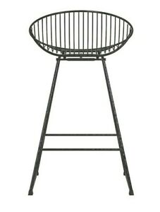 CosmoLiving Ellis Wire Metal Counter Stool