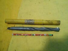 "NEW 2 MORSE TAPER SHANK 23/32"" CARBIDE TIPPED DRILL BIT tool SUPER MORSE USA"