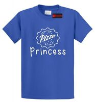 Pizza Princess T Shirt Cute Graphic Tee Pizza Lover Gift Tee