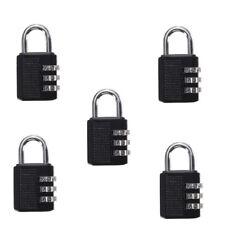 5 Pcs Mini 3 DIGIT Resetable Combination Travel Luggage Suitcase Lock Padlock