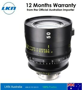 Tokina Cinema Vista 50mm T1.5 Lens
