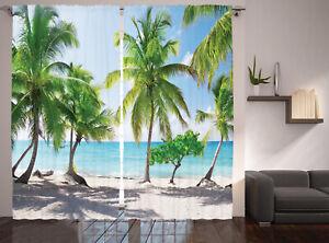 Ambesonne Living Room Bedroom Window Drapes Decorative Curtains 2 Panel Set