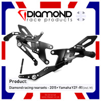 Diamond Race Products-YAMAHA libération rapide réservoir bouchon de carburant MT09 MT-09 2014 2015