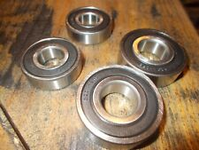 "4PK  UPPER (2) &  LOWER (2) 42 "" DECK SPINDLE BEARINGS FOR CRAFTSMAN RIDERS"