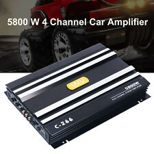 4 Channel Car Amplifier Stereo Audio Super Bass Sub Woofer Powered Amp 12V