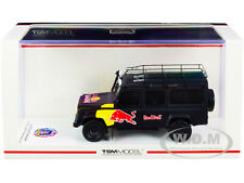 """LAND ROVER DEFENDER """"RED BULL LUKA"""" PROMOTIONAL VEHICLE 1/43 MODEL BY TSM 430322"""