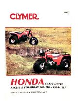 Honda TRX 200/ATC 250ES/250SX Clymer Shop/Repair Manual