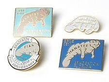 Elks Bpoe Club Lodge Manatee 1511 Bradenton Florida 3 Pins & 75 Anniversary Pin